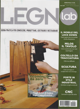 Legno Lab - n. 118 - bimestrale - settembre - ottobre 2020