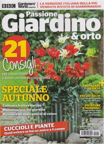 Passione Giardino e Orto - n. 11 - bimestrale - ottobre - novembre 2020