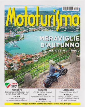Mototurismo - n. 263 - settembre - ottobre 2020 - bimestrale