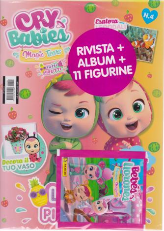 Cry Babies - n. 4 - 28/9/2020 - bimestrale - rivista + album + 11 figurine