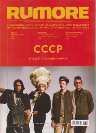 Rumore - Cccp - n. 345 - mensile - ottobre 2020
