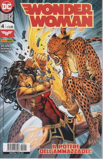 Wonder Woman - n. 4 -Il potere dell'ammazzadei! -  mensile - 24 settembre 2020