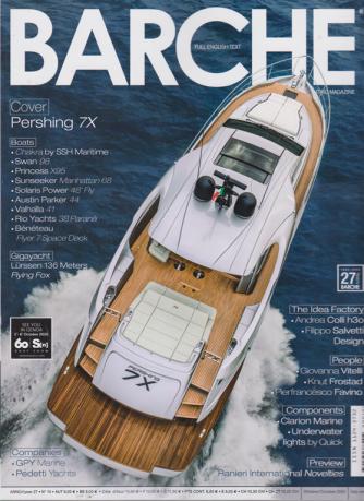 Barche - n. 10 - ottobre 2020 - mensile