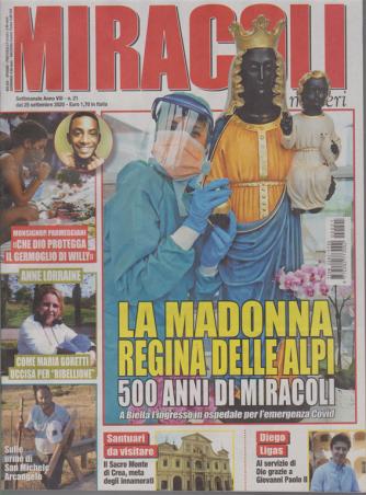 Miracoli e Misteri - n. 21 - settimanale - 25 settembre 2020