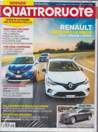 Quattroruote + Prove Hybrid - n. 782 - mensile - ottobre 2020 - 2 riviste