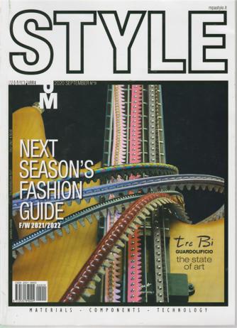 Style Moda Pelle - n. 9 - settembre 2020 - trimestrale - italian/english text