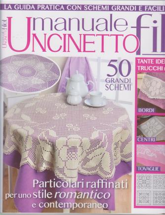 Motivi uncinetto speciale - Manuale uncinetto filet - n. 2 - bimestrale - ottobre - novembre 2020