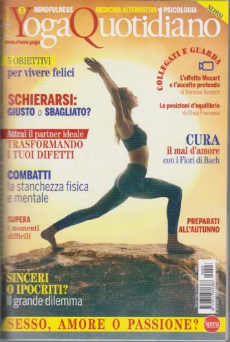 Nuovo Yoga Quotidiano - n. 3 - bimestrale - ottobre - novembre 2020