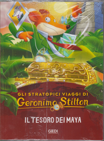 Gli stratopici viaggi di Geronimo Stilton - Il tesoro dei Maya - n. 13 - 23/9/2020 - settimanale