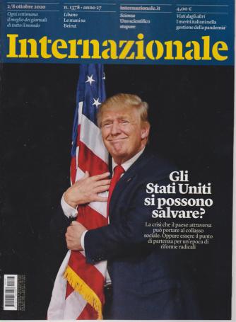 Internazionale - n. 1378 - 2/8 ottobre 2020 - settimanale