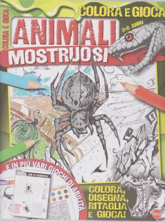 Colora E Gioca - Animali mostruosi - n. 1 - bimestrale - maggio - giugno 2019 -