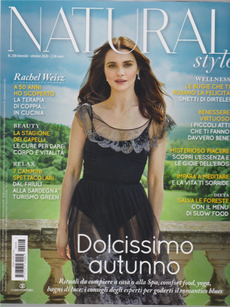 Natural Style - n. 208 - mensile - ottobre 2020