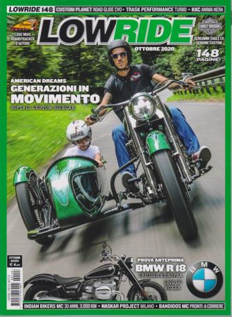Low Ride - n. 148 - ottobre 2020 - mensile - 148 pagine
