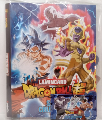 Raccoglitore Lamincard Dragonball Super Saga Collection by Diramix