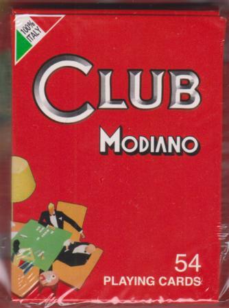 Il mondo delle carte da gioco - Club Modiano - Bridge- ramino - 54 playing cards - 3/10/2020 - settimanale - n. 6