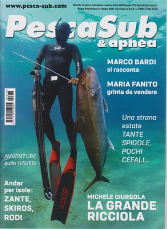 Pescasub & Apnea - n. 373 - mensile - 1 ottobre 2020 -