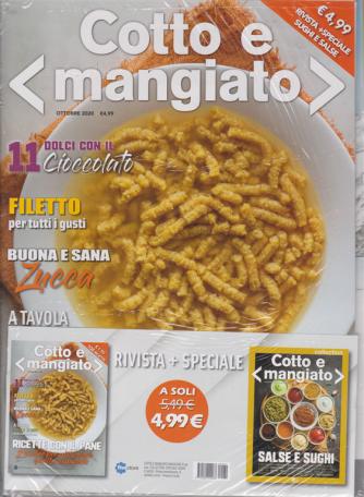 Cotto e mangiato + speciale sughi e salse - n. 34 - ottobre 2020 - mensile - 2 riviste