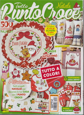 Tutto Ricamo - Tutto punto croce Natale - n. 56 - mensile