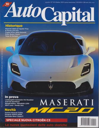 Auto Capital - n. 10 - mensile - ottobre 2020