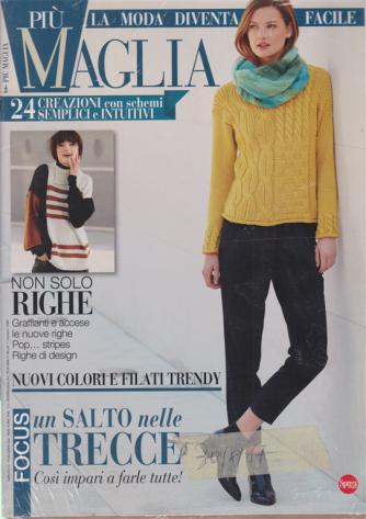 Piu' maglia - n. 2 - bimestrale - ottobre - novembre 2020 - 2 riviste