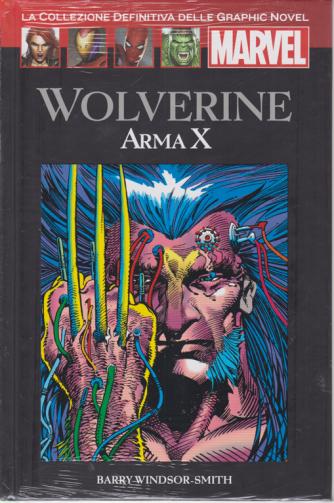 Graphic Novel Marvel - Wolverine - Arma X - n. 56 - 3/10/2020 - quattordicinale - copertina rigida