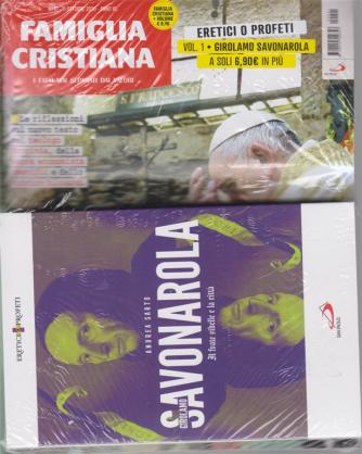 Famiglia Cristiana + il libro Eretici o profeti - Girolamo Savonarola -Il frate ribelle e la città -  di Andrea Sarto -  n. 41 - 11 ottobre 2020 - settimanale - libro + rivista