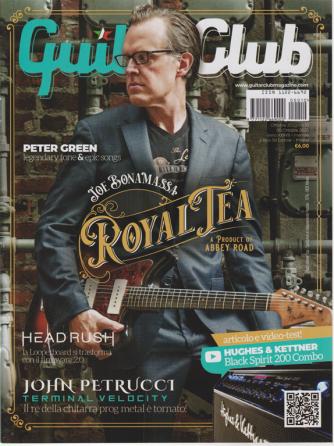 Guitar Club - John Petrucci - n. 10 - ottobre 2020 - mensile