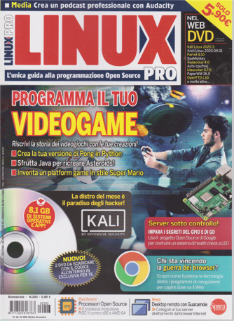 Linux Pro - n. 203 - bimestrale - ottobre - novembre 2020
