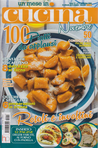 Un mese In cucina - n. 11 - mensile - novembre 2020