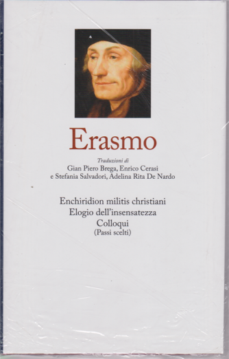 I grandi filosofi - Erasmo - n. 19 - settimanale - 9/10/2020 - copertina rigida