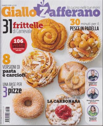 Giallo Zafferano - n. 3 - mensile - marzo 2019 -