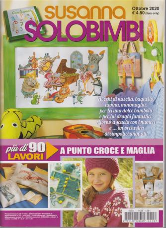 Susanna Solo bimbi - n. 157 - trimestrale - ottobre 2020
