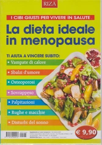 Curarsi mangiando - La dieta ideale in menopausa - n. 146 - ottobre 2020 -
