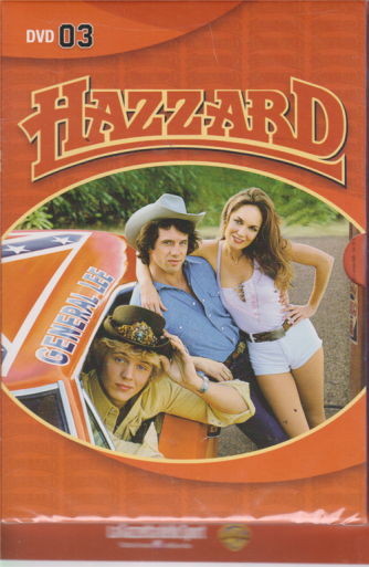 Hazzard Dvd -terza uscita - settimanale -