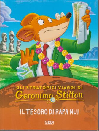Gli stratopici viaggi di Geronimo Stilton - Il tesoro di Rapa Nui - n. 16 - settimanale - 14/10/2020