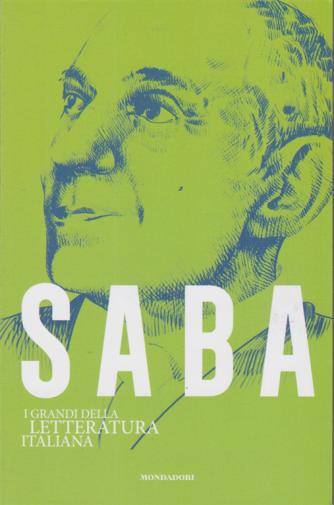 I  grandi della letteratura italiana - Saba - n. 25 - settimanale - 13/10/2020