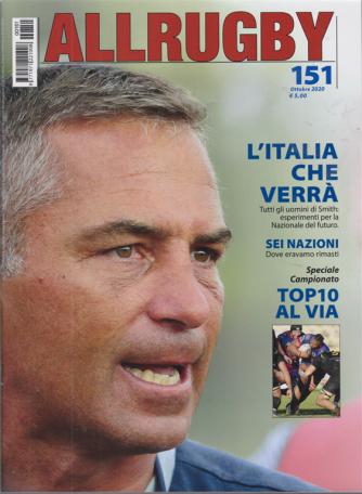 All Rugby - n. 151 - ottobre 2020 - mensile