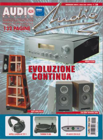 Audio Review - n. 424 - ottobre 2020 - mensile - 132 pagine