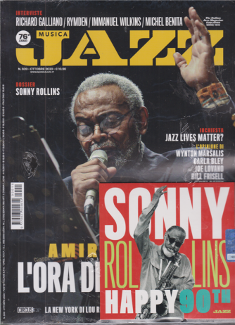 Musica Jazz - n. 839 - ottobre 2020 -