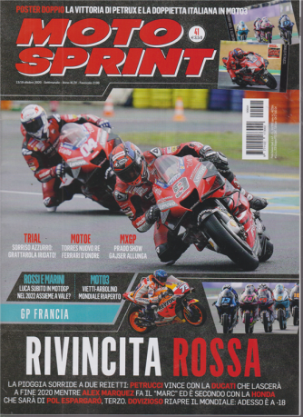 Motosprint - n. 41 - settimanale - 13/19 ottobre 2020