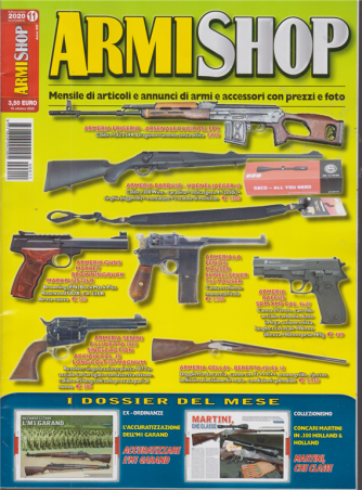 Armi Shop - n. 11 - mensile - novembre 2020