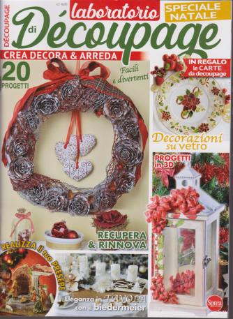 Laboratorio di Decoupage - Speciale Natale - n. 3 - bimestrale - ottobre - novembre 2020