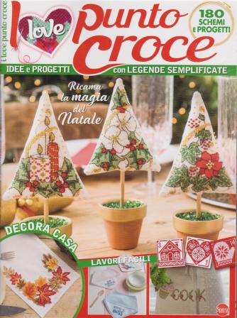 I Love Punto Croce - n. 8 - bimestrale - novembre - dicembre 2020 -
