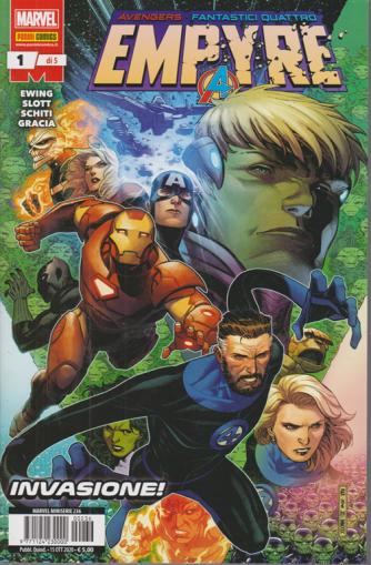 Marvel Miniserie - Empyre - n. 236 -Invasione! -  quindicinale 15 ottobre 2020