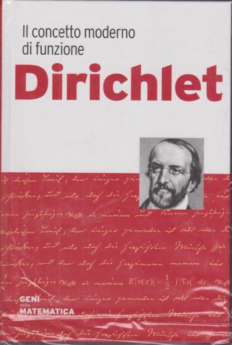 Geni della matematica - Dirichlet - n. 36 - settimanale - 15/10/2020 -copertina rigida