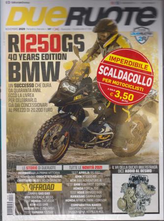 Dueruote + Scaldacollo per motociclisti - n. 187 - novembre 2020 - mensile