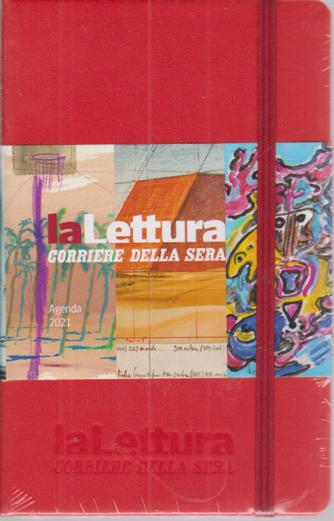 Agendina Letteratura - Agenda Lettura 2021 -Corriere della sera -  mensile - 14,5x9 - con elastico