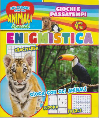 Un cuore per gli animali special - Enigmistica - n. 2 - trimestrale - ottobre - novembre -dicembre 2020