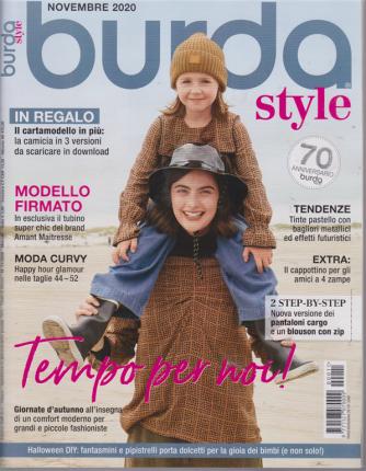 Burda style - n. 11 - mensile - novembre 2020