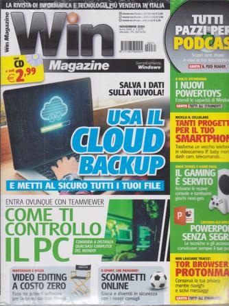 Win Magazine - n. 271 - rivista + cd - novembre 2020 - mensile